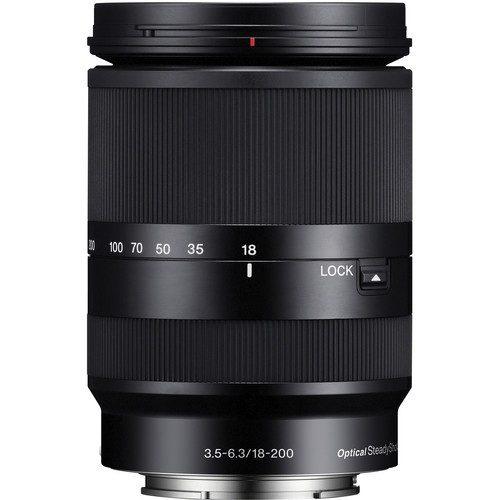 Sony E 18-200mm f/3.5-6.3 OSS LE Lens