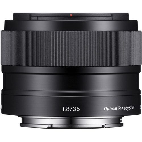Sony E 35mm f/1.8 OSS Lens (Black)