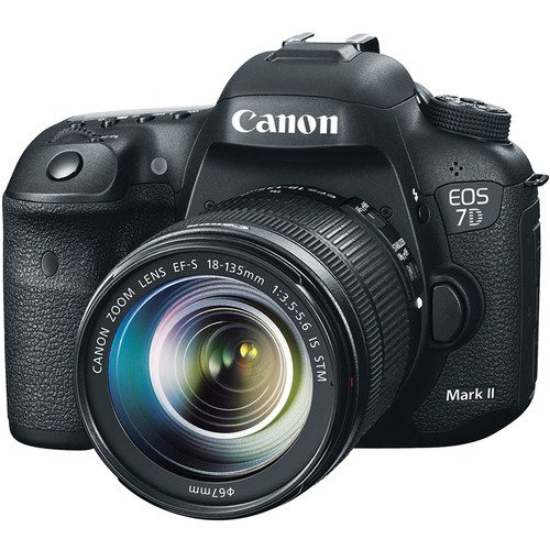 Canon EOS 7D Mark II DSLR Camera with 18-135mm f/3.5-5.6 STM Lens