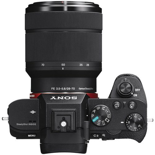 Sony Alpha a7 II Mirrorless Digital Camera with FE 28-70mm f/3.5-5.6 OSS