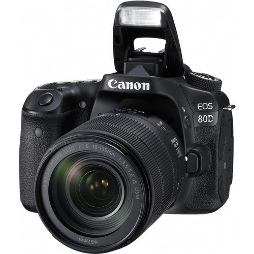 Canon EOS 80D DSLR Camera with 18-135mm STM Lens