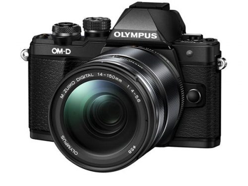 OLYMPUS OM-D E-M10 MARK II with M.ZUIKO 14-150MM F/4-5.6 II (Black & Silver)