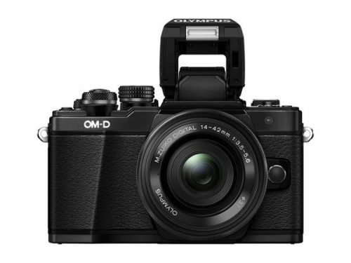 OLYMPUS OM-D E-M10 MARK II with M.ZUIKO 14-42MM F/3.5-5.6 EZ (FREE GIFT 16GB SD CARD + Extra Battery + Camera Bag)