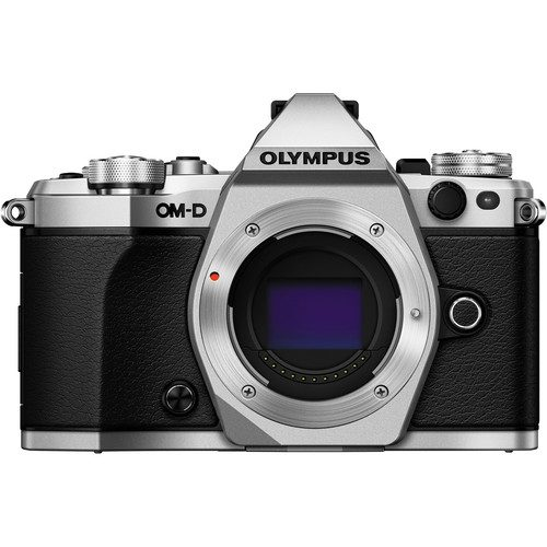 Olympus OM-D E-M5 Mark II (Body, Black & Silver)