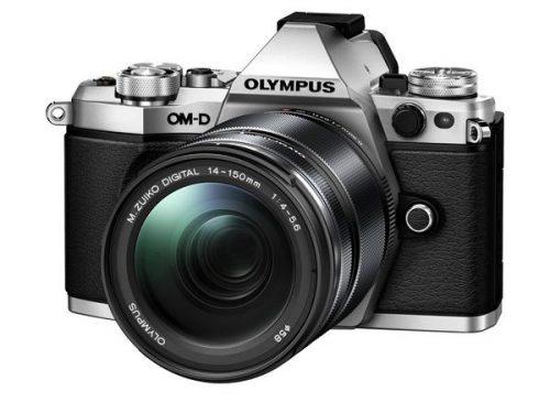 OLYMPUS OM-D E-M5 MARK II + M.ZUIKO 14-150MM F/4-5.6 EZ (Black & Silver)