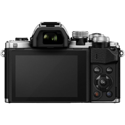 Olympus OM-D E-M10 Mark II (Body Only, Black & Silver )