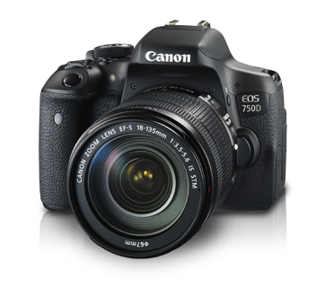 EOS 750D Kit (EF-S18-135mm IS STM)