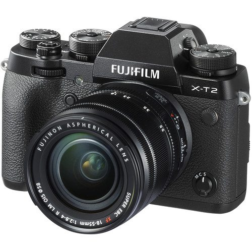 Fujifilm X-T2 with 18-55mm Lens (FREE 32GB UHS-II) Mirrorless Digital Camera