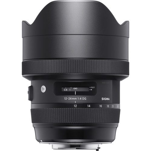 Sigma 12-24mm f/4 DG HSM Art Lens for (Canon, Nikon, Sony A, SA)