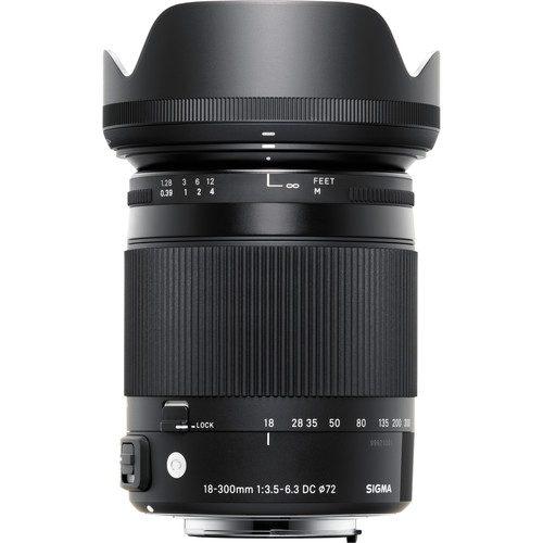 Sigma 18-300mm f/3.5-6.3 DC MACRO OS HSM Contemporary Lens for (Canon, Nikon, Sony A, SA)
