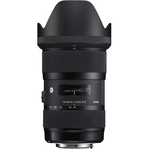 Sigma 18-35mm f/1.8 DC HSM Art Lens for (Canon, Nikon, Sony A, SA)