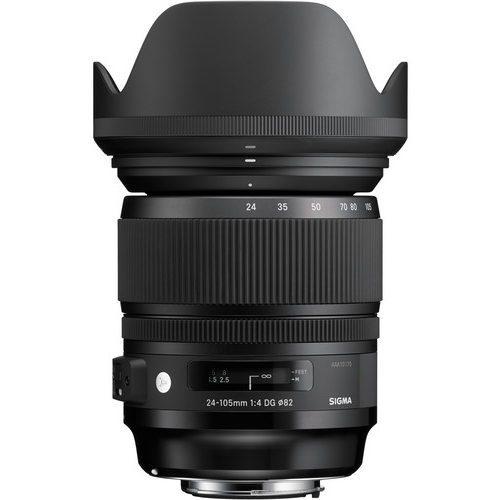 Sigma 24-105mm f/4 DG OS HSM Art Lens for (Canon, Nikon, Sony A, SA)