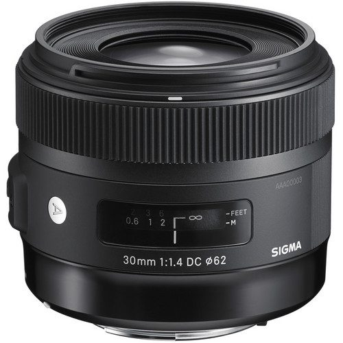 Sigma 30mm f/1.4 DC HSM Art Lens for (Canon, Nikon, Sony A, SA)