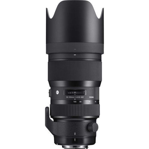 Sigma 50-100mm f/1.8 DC HSM Art Lens (Canon, Nikon, Sony A, SA)