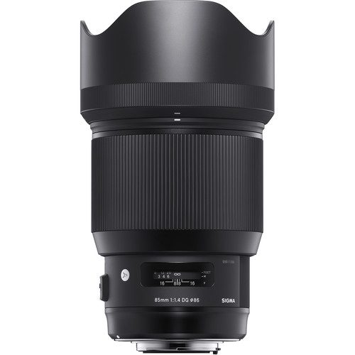 Sigma 85mm f/1.4 DG HSM Art Lens for (Canon, Nikon, Sony A, SA, FE)