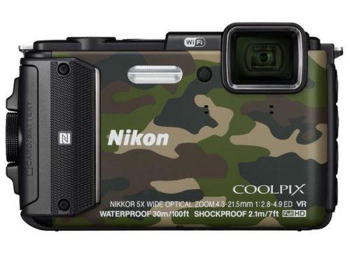 NIKON COOLPIX AW130 (Blue & Green)