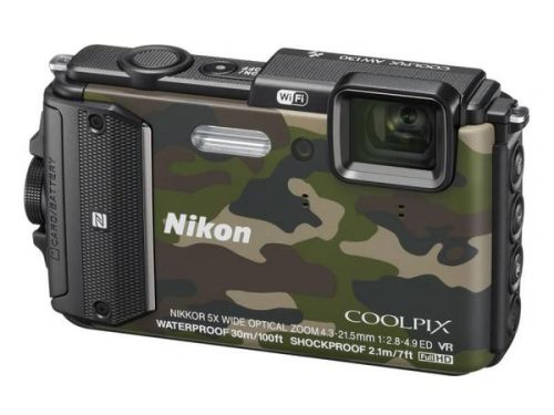 NIKON COOLPIX AW130 (Blue & Green)