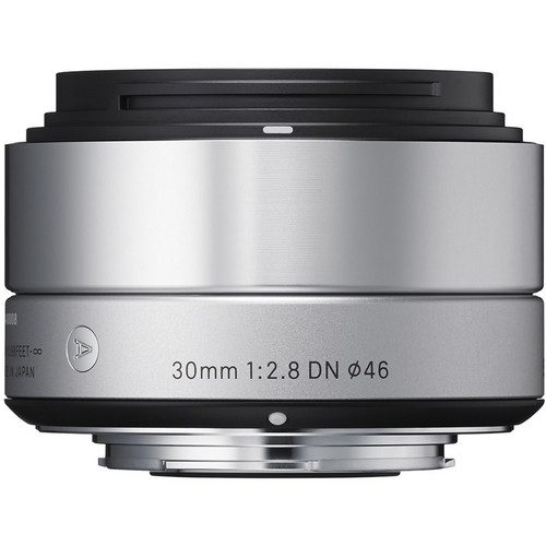 Sigma 30mm f/2.8 DN Lens for (Sony E, M4/3 Mount) (Black & Silver)