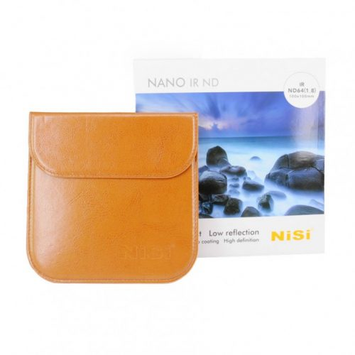Nisi 100x100mm Nano IR ND64 (1.8) – 6 Stop