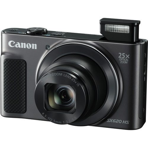 Canon PowerShot SX620 HS Digital Camera (Black, Red, Silver)