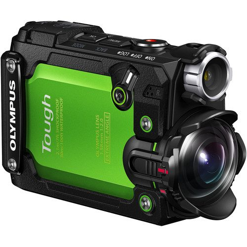 Olympus Stylus Tough TG-Tracker Action Camera (Green & Black)