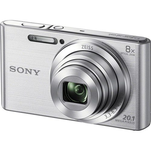 Sony DSC-W830 Digital Camera (Black & Silver)