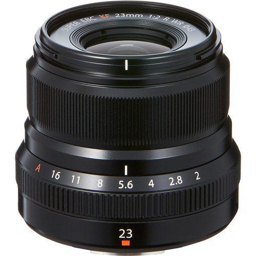 Fujifilm XF 23mm f/2 R WR Lens (Black & Silver)