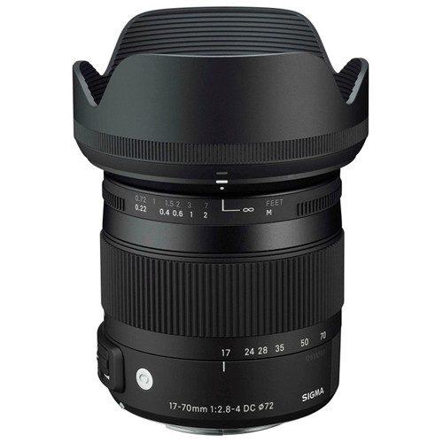 Sigma 17-70mm f/2.8-4 DC Macro OS HSM Lens Comtemporary for (Canon, Nikon. Sony A, SA)
