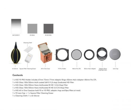 NiSi Filters 100mm Starter Kit II (2nd Generation)