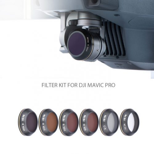 NiSi Filter Kit For DJI Mavic Pro (6 Pack)