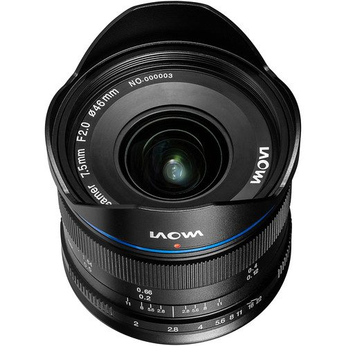 Venus Optics Laowa 7.5mm f/2  For (MFT Olympus & Panasonic)