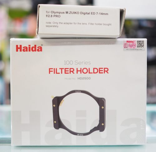 100mm Filter Holder Solution for Olympus m.ZD ED 7-14mm F2.8 PRO lens