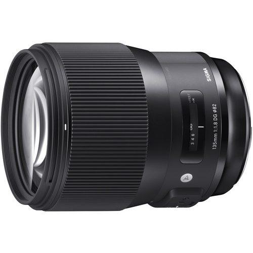 Sigma 135mm f/1.8 DG HSM Art Lens (For Canon EF, Nikon F, Sony A, Sigma SA)