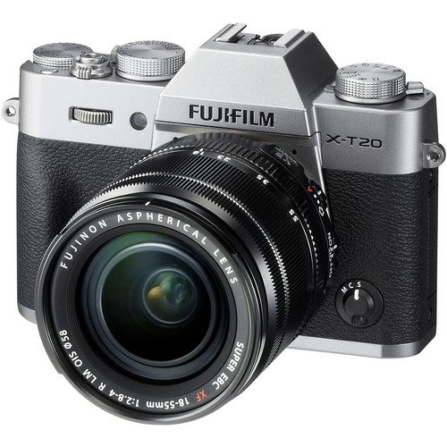 Fujifilm X-T20 Mirrorless Digital Camera with 18-55mm Lens [FREE 64GB SD CARD & EXTRA BATTERY]