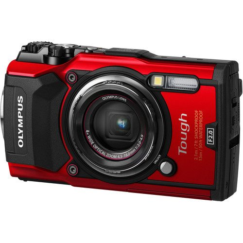 Olympus Tough TG-5 Digital Camera (FREE GIFT 16GB SD CARD + CAMERA CASE)