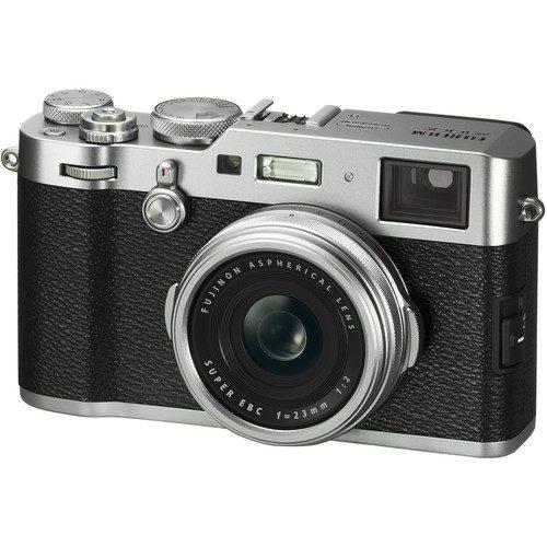 Fujifilm X100F (Black & Silver)(FREE 32GB CARD, LC-X100F CASE) Digital Camera