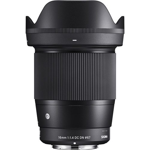 Sigma 16mm f/1.4 DC DN Contemporary Lens for Sony E & M4/3