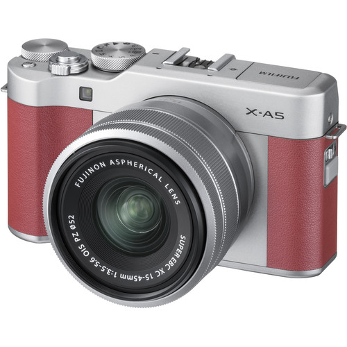 Fujifilm X-A5 with 15-45mm Lens (FREE 32GB SD CARD) Mirrorless Digital Camera