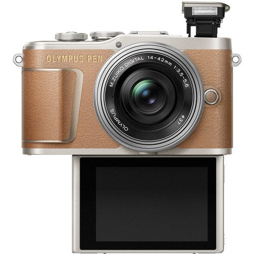 OLYMPUS PEN E-PL9 with EZ14-42 f/3.5-5.6 Lens Kit (FREE 45MM LENS & EXTRA BATTERY)