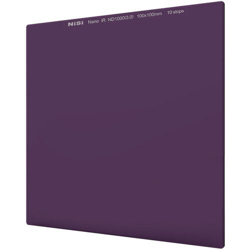 NiSi 70 x 80mm Nano IRND Filter 10-Stop Or 6-Stop Or 3-Stop