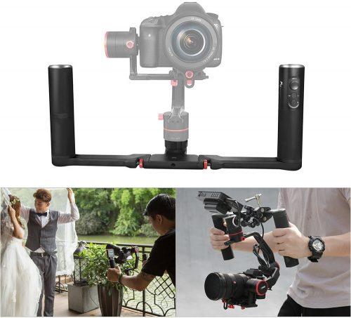 Feiyu A2000 3-Axis Gimbal 2-Hand Holder Kit For DSLR/Mirrorless Camera