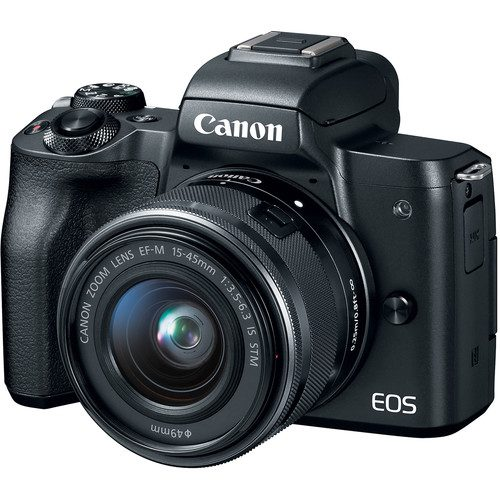 Canon EOS M50 with 15-45mm Lens (FREE GIFT 32GB SD CARD and CAMERA BAG)