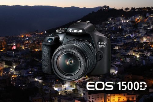 CANON EOS 1500D (EF-S 18-55MM F/3.5-5.6 IS II LENS)