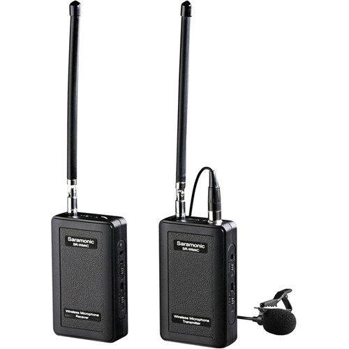 Saramonic SR-WM4C VHF Wireless Lavalier Microphone System (1Tx & 1Rx)