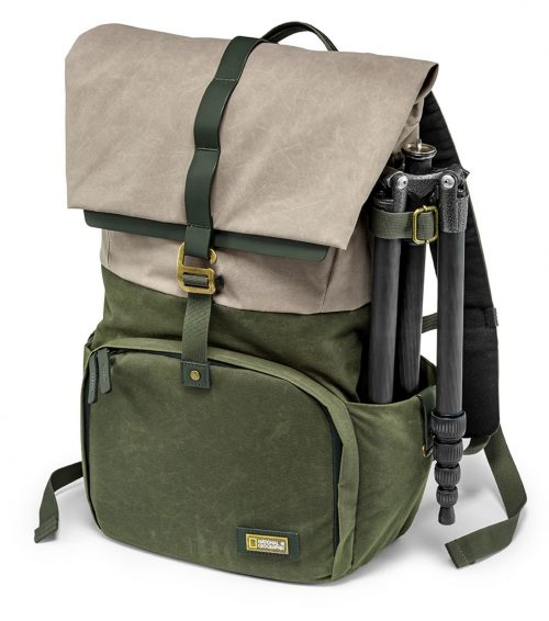 National Geographic Rain Forest camera and laptop backpack M