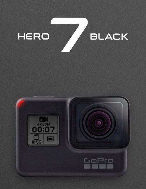 GOPRO HERO 7 BLACK FREE 64GB CARD