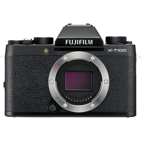 Fujifilm X-T100 Mirrorless Digital Camera (Body Only) [FREE 64GB SD CARD]