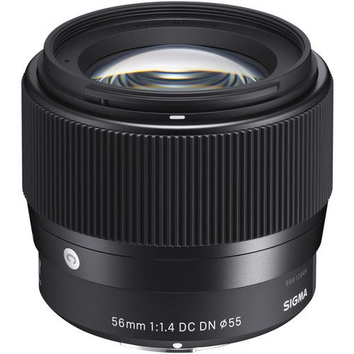 Sigma 56mm f/1.4 DC DN Contemporary Lens [FOR E-MOUNT & M43 MOUNT]