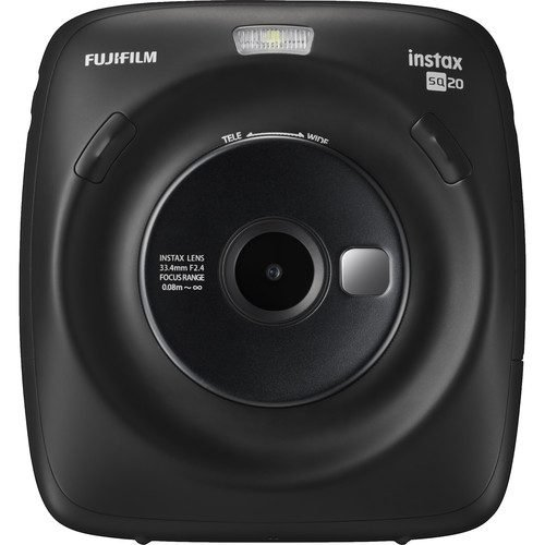 FUJIFILM INSTAX SQUARE SQ20 Hybrid Instant Camera (FREE 10 SHEET FILM)