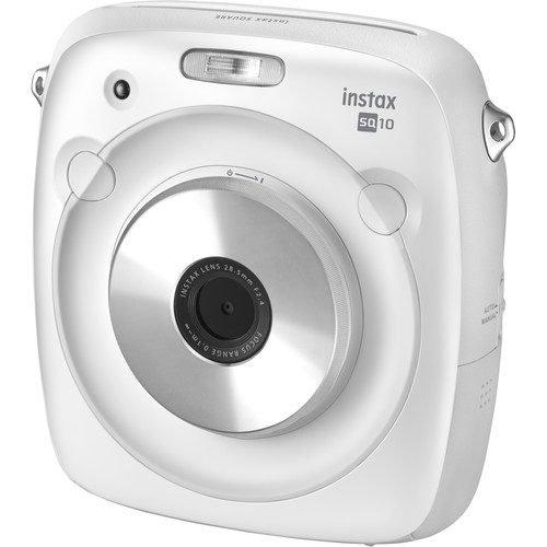 FUJIFILM INSTAX SQUARE SQ10 Hybrid Instant Camera (FREE 10 SHEET FILM)
